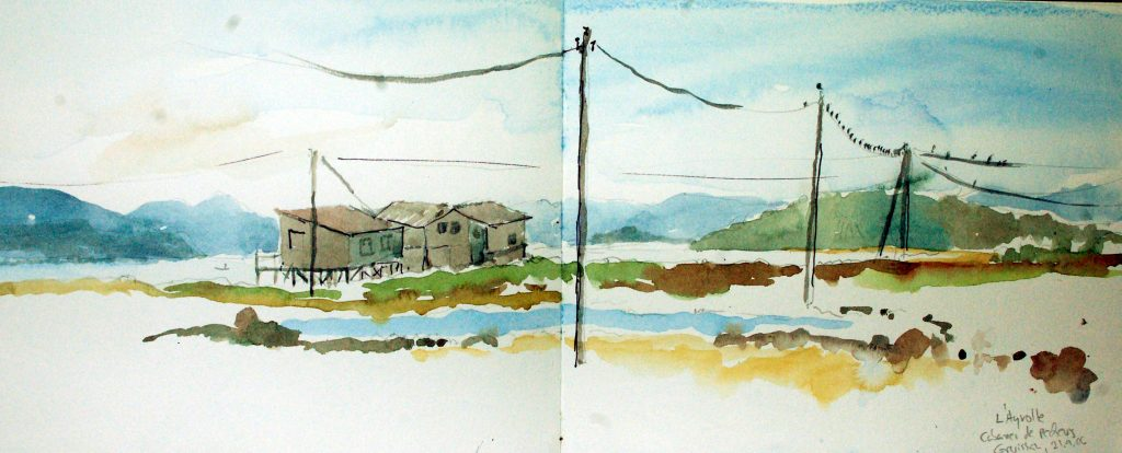 Die Fischerhütten, Gruissan