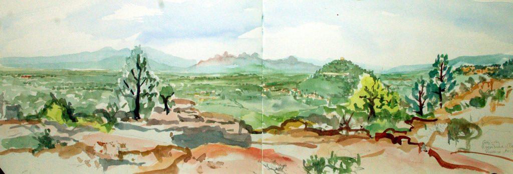 Gebirgszug Roquebruen, Frejus, Provence, Mi 2002